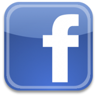 Image result for facebook logo 200x200